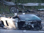 Teen taking Lamborghini test drive dies in crash