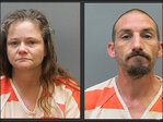 Police: Couple holds woman captive in cage