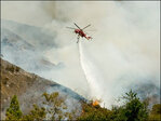 Crews battle California wildfire amid heatwave