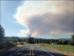 Onion Mountain fire near Grants Pass grows to nearly 3 square miles