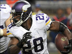 After making 'mistake,' Vikings bench RB Peterson