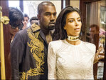 Kim Kardashian gets scare outside Paris fashion show