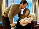 New mom Chelsea Clinton celebrates baby daughter