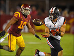 Oregon State falls to No. 18 USC, 35-10 in first season loss