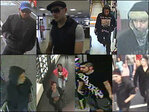 Have you seen these 12 unidentified robbery suspects?