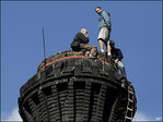 Sky's no limit for Czech chimney climbers