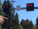 New signal on Eugene street: How does it work?