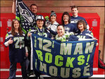 Photos: Seattle Seahawks 12s show team pride