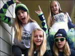 Photos: Spirited Seahawks fans show Blue Friday pride