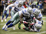 Seahawks' offense sputters in 30-23 loss to Cowboys
