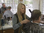 Barber shop's business rebounds after apartment construction