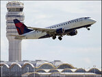 Delta's 3rd quarter profit falls on one-time items