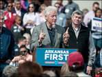 Clinton seeks to boost Democrats in Arkansas, US