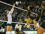 No. 12 Oregon Volleyball downs Cal, 3-0