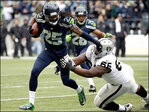 Lynch's 2 TDs lead Seahawks past Oakland 30-24