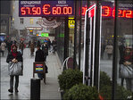 Russian central bank moves to support diving ruble