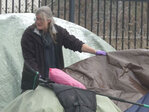 Police issue citations to people illegally camped in Eugene