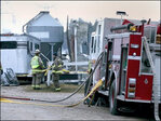 Some 30 horses die in stable fire outside Chicago