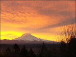 Mount Rainier casts big shadow