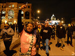 Ferguson protests across U.S. range from peaceful to disruptive