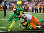 'Teams that play Oregon are pretty much dead in the 4th quarter'
