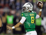 Oregon beats Arizona 51-13 to win Pac-12 title
