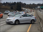 2 women arrested after police chase up I-5 in South King Co.
