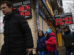 Russian ruble sinks sharply despite bank rate hike