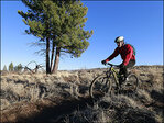 Oregon's Horse Butte attracts winter mountain bikers