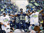Newspapers banner Seattle Seahawks surprising victory