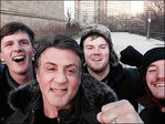 Tourists climb 'Rocky' steps, find real Sylvester Stallone