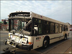 2 city buses collide in Baltimore, sending 25 to hospital