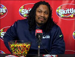 Seahawk Marshawn Lynch opens up to media - or does he?