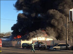Explosion rocks used auto parts store in Lakewood