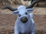 Missing blue ox: 'Either give him to Paul Bunyan or bring him back'