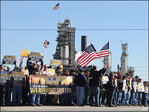 Why refinery strike has had little bite at gas pump