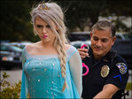 Fed up with winter, S.C. town arrests 'Elsa' before letting her go