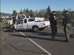 Police: Suspect fleeing troopers hit cars on I-5, 30th