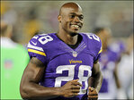 Progress pleases Peterson; statement of thanks skips Vikings
