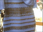 Debates rage over color of dress photographed in rare light