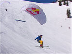 New extreme sport has skiers literally flying down the slopes