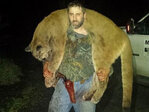 Glide man who killed cougar creates buzz on social media