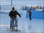Ice bikes gain traction in bitterly cold