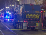 Garbage truck driver who severed pedestrian's leg ordered to pay $12K