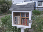 Little libraries on street corners big on books