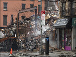 Search continues for at least 2 after apparent NYC gas blast