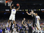 Gonzaga denied trip to Final Four after 66-52 loss to Duke