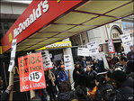 Fast-food labor organizers plan actions for April 15
