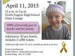 'For Scarlet' fundraiser takes place Saturday