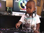 2-year-old disc jockey fascinates South African fans